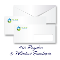 #10 Regular & Window Envelopes